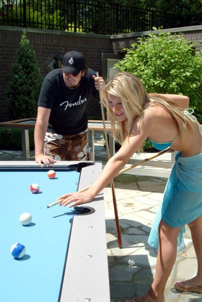 Outdoor Pool Table With Drawer Recreation Equipment Pinterest - Outdoor pool table rental