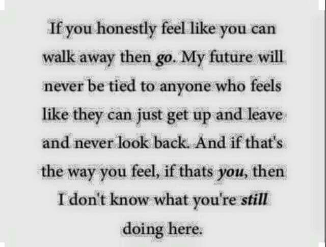 If you honestly