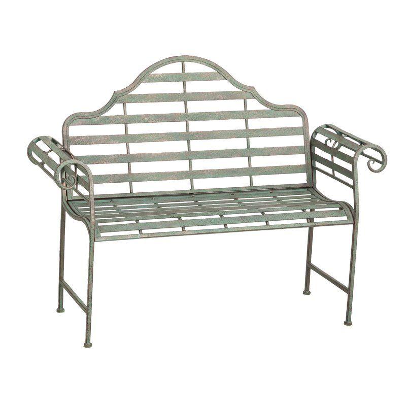 Peachy Lark Manor Bescott Chippendale Metal Garden Bench Reviews Pabps2019 Chair Design Images Pabps2019Com