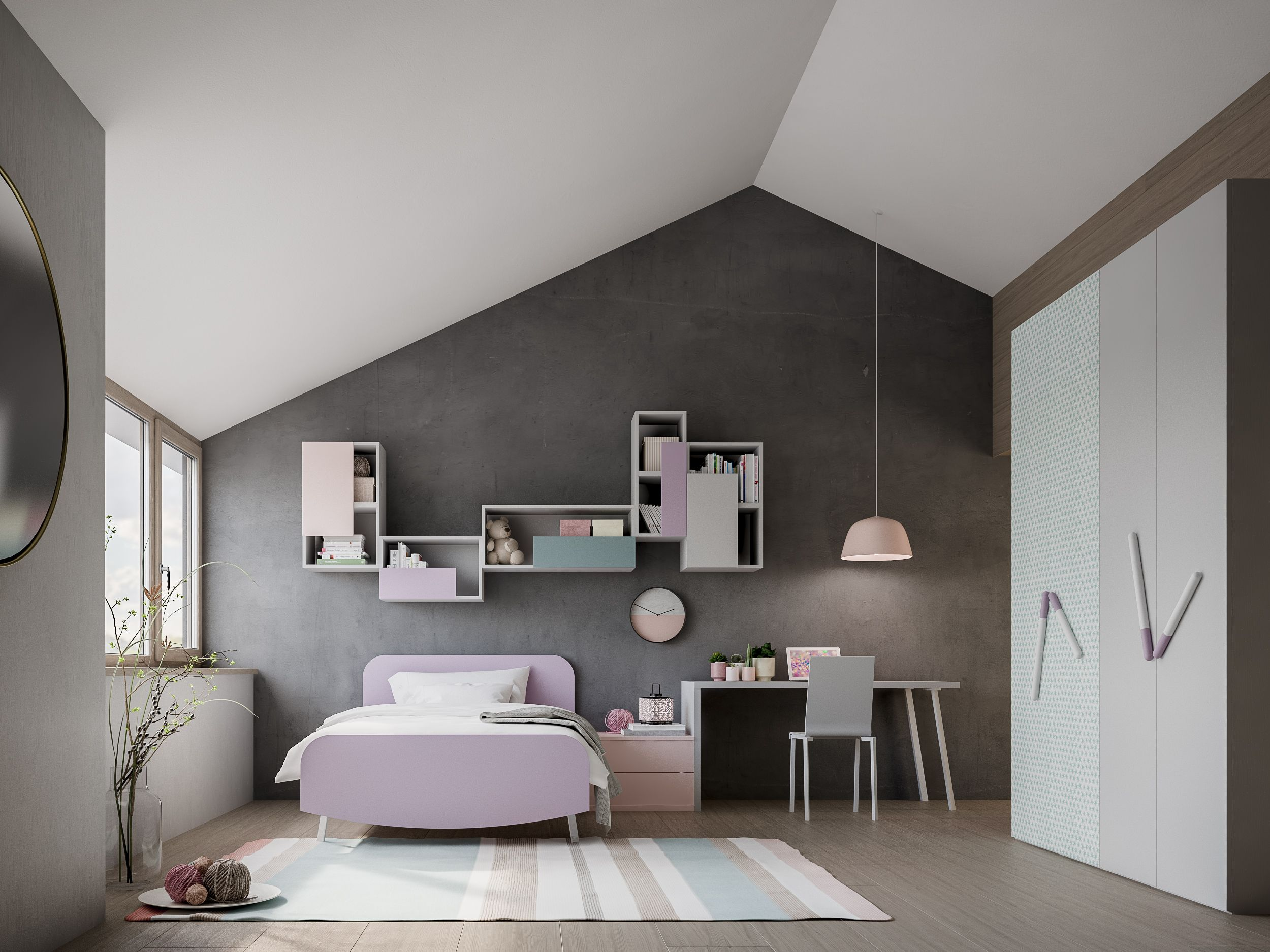 Nardi kinderkamer jeugdkamer italiaans design collectie