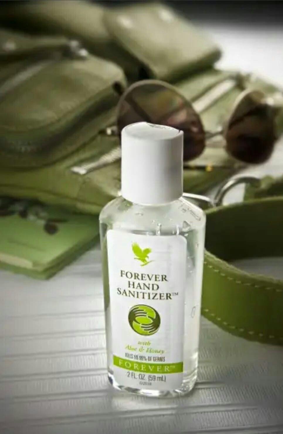 Forever Aloe Hand Sanitizer Nicht Nur Als Desinfektionsmittel Zu