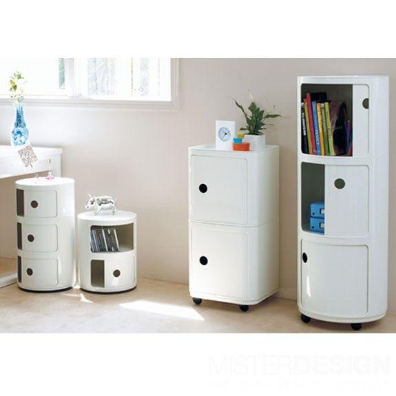 kartell componibili big opbergkastje s nachtkastjes slapen en kinderkamer. Black Bedroom Furniture Sets. Home Design Ideas