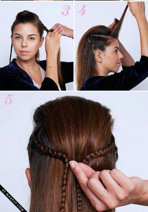Fryzura Długie Włosy Fryzury Hairstyles Włosy Fryzury