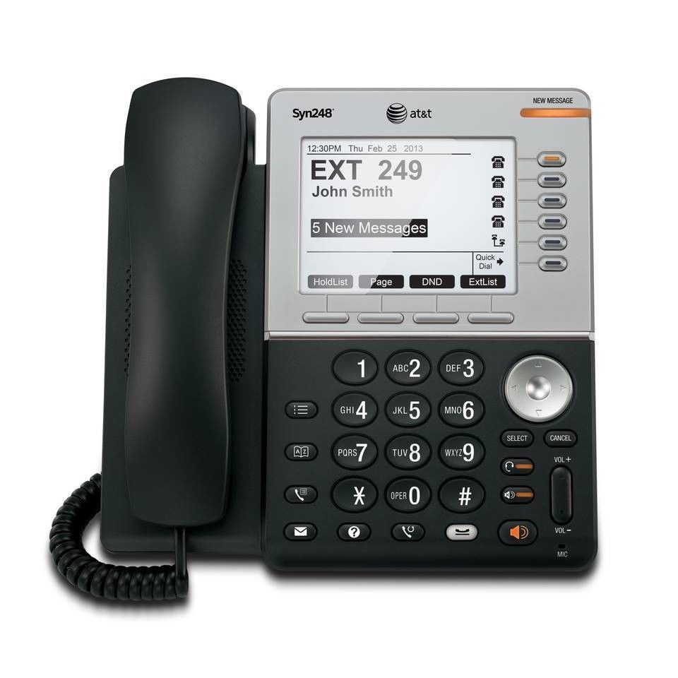AT&T SB35031 Syn248 Corded DECT Business Desk Phone