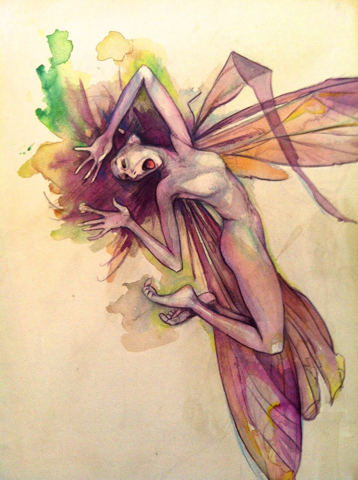 Pin Carrie Crain Body Art Fairy Brian Froud