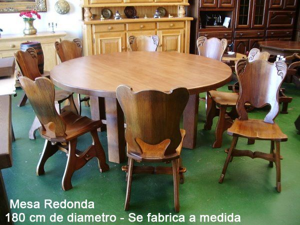 sillas de comedor rusticas en madera - Google Search Troncos - Comedores De Madera