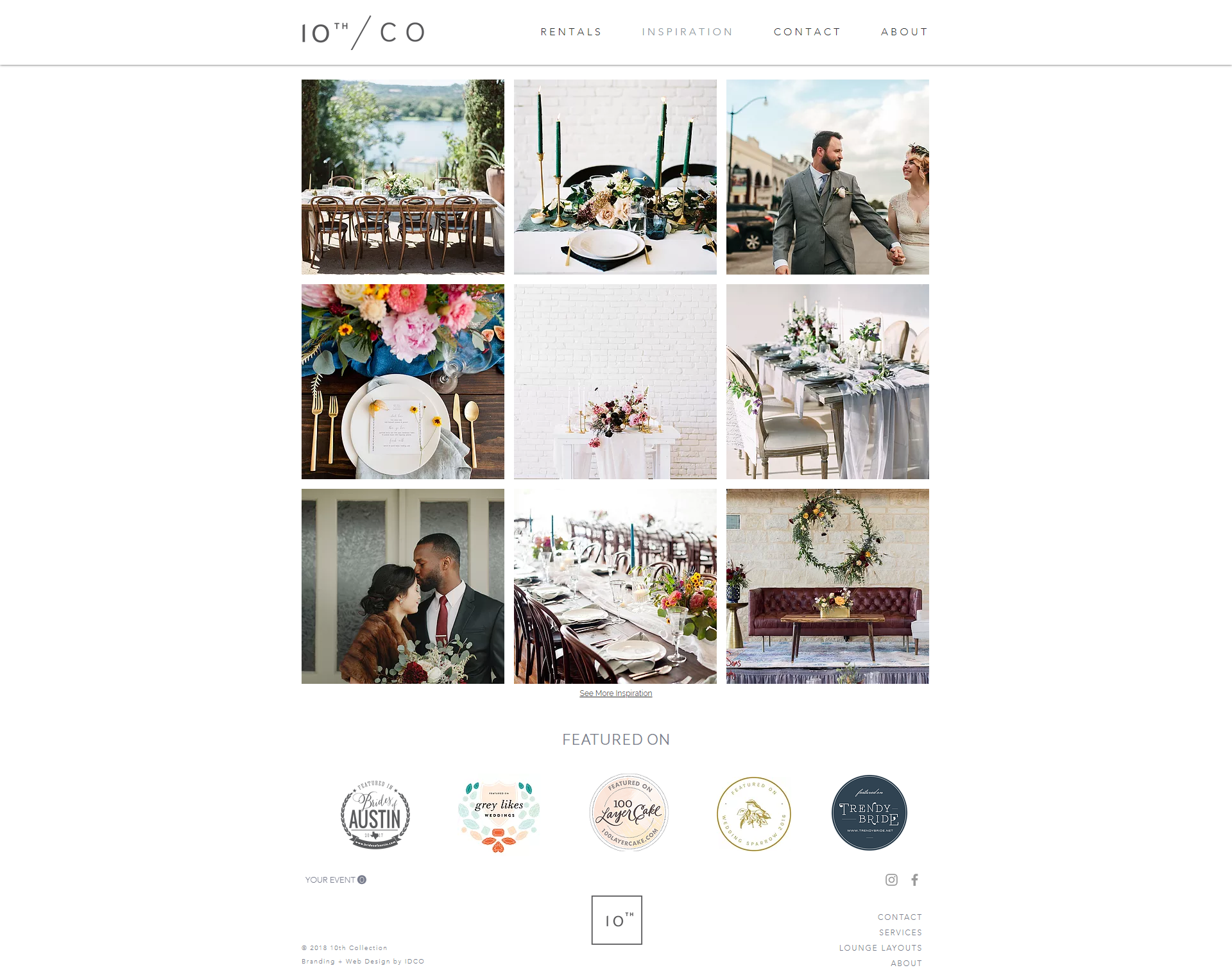 The Identite Collective Branding Web Design And Content Creation For Interior Designers And Lifestyle Brands Web Design Company Creative Agency Web Design