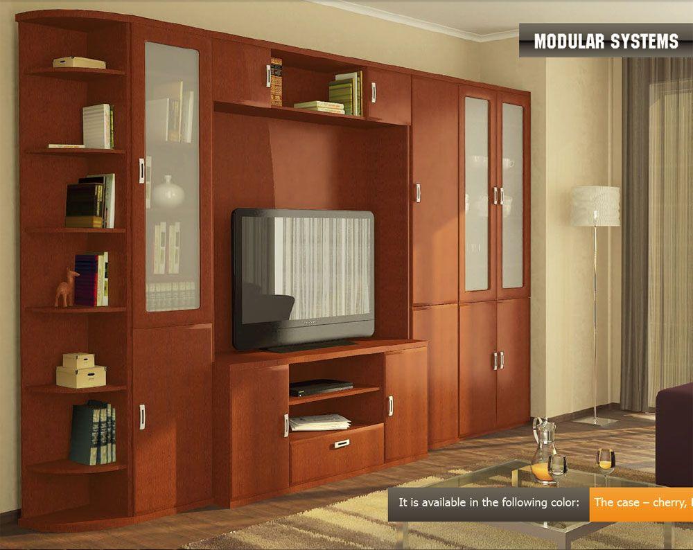 Modern Modular Wall Unit Vera