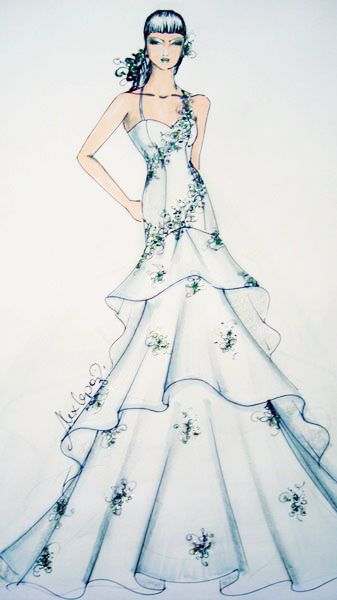 Desenho de Moda de Alex Lopes