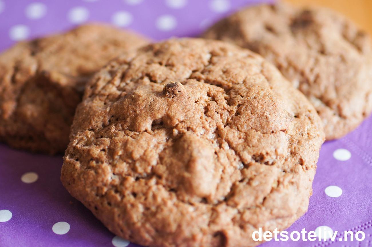 Dette er superdigge cookies med Smash! Kakene lages i en fei!