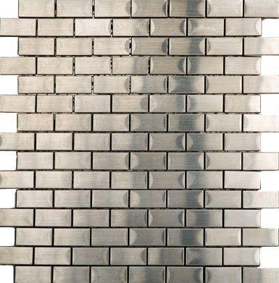 Mosaico Brick Acero Decoracion Pinterest Acero