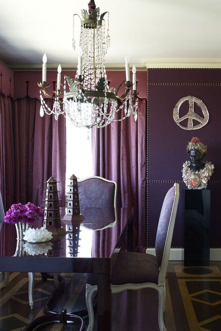 25 Rooms That Will Convince You Of The Power Of Purple images
