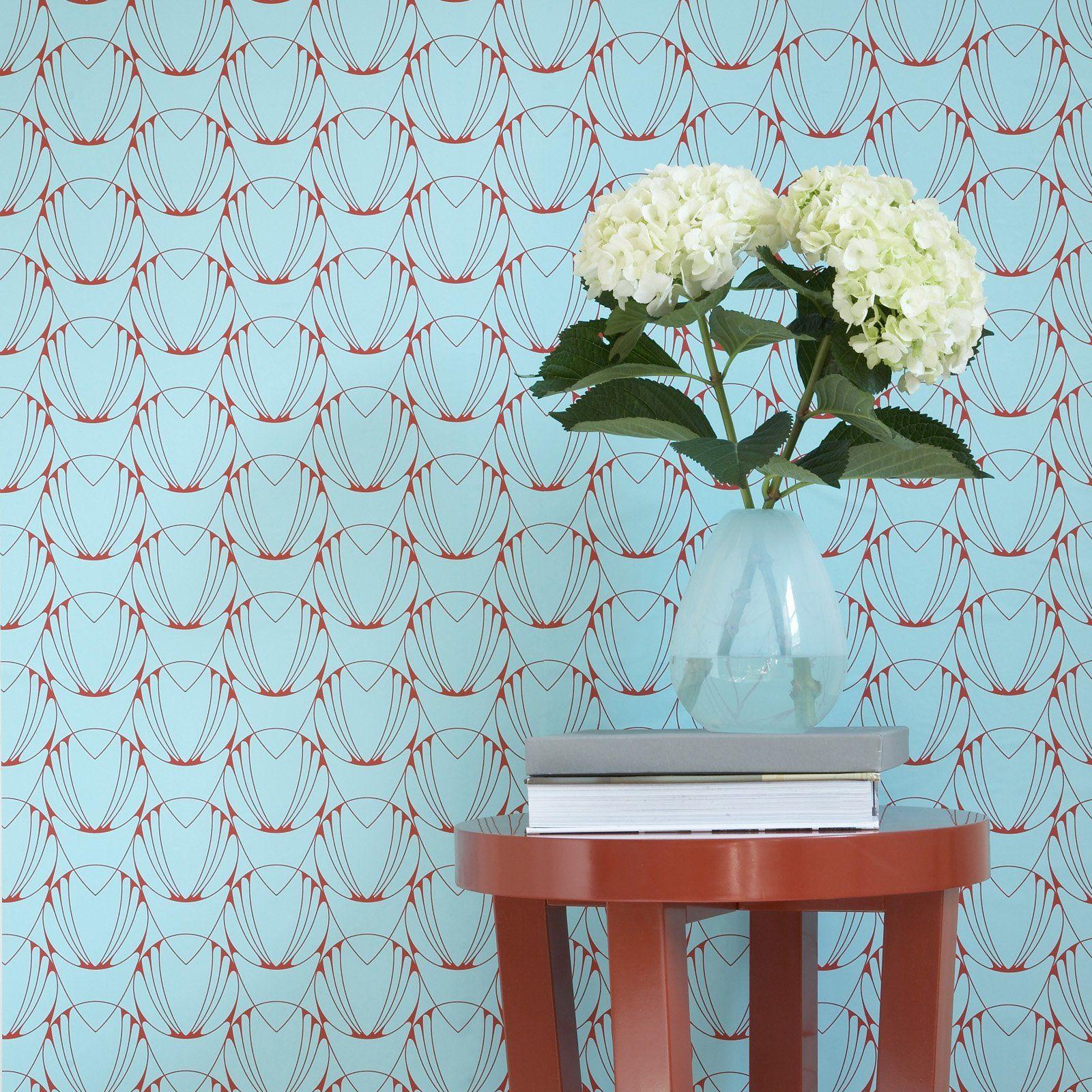 Alto Repositionable Self Adhesive Wallpaper - Caribbean | Shop at the Foundary