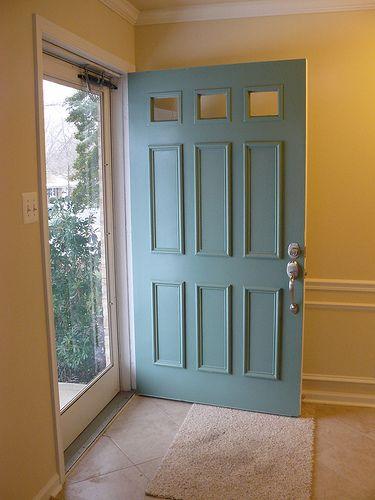Extra Wide Front Door