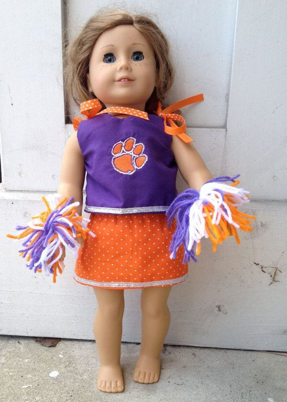 18 inch Doll Cheerleading Outfit by AnInitialImpression on Etsy, $20.00 #18inchcheerleaderclothes 18 inch Doll Cheerleading Outfit by AnInitialImpression on Etsy, $20.00 #18inchcheerleaderclothes