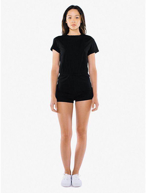 624f4e1e9ed Fine Jersey T-Shirt Romper