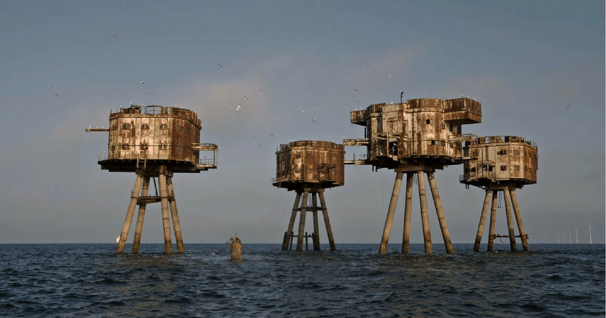 The concrete ship...just wow.
