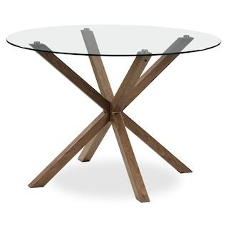 Clearview Dining Table Brown Table Dining Table Dining