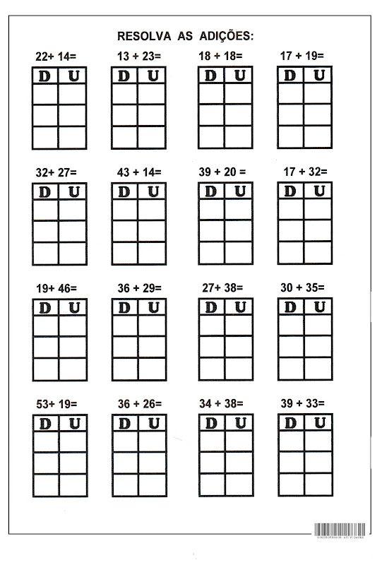 A5 Jpg 541 800 Pixels Com Imagens Atividades De Matematica