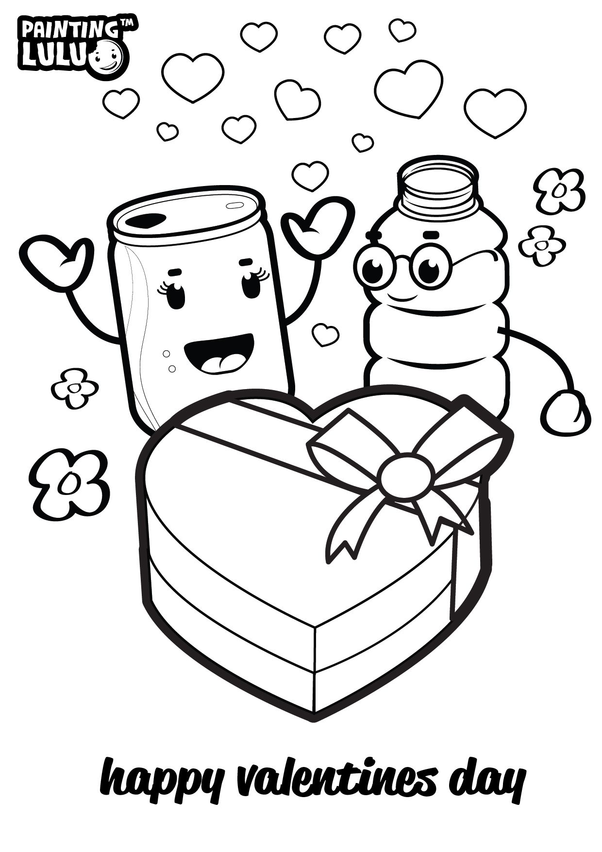 Color Up Your Valentine Happy Valentines Day For More Amazing Coloring Pages