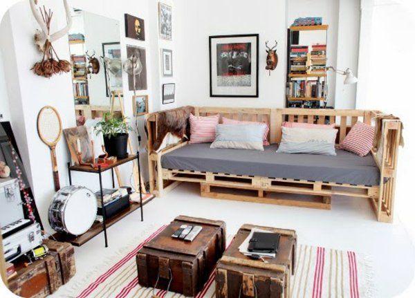 Wohnideen Aus Paletten 1001 möbel aus paletten schöne wohnideen für sie pallets