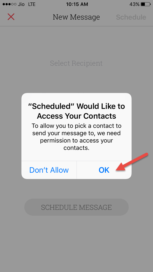 Schedule Text Messages On Iphone Using A Free Third Party App Text Messages Messages Texts