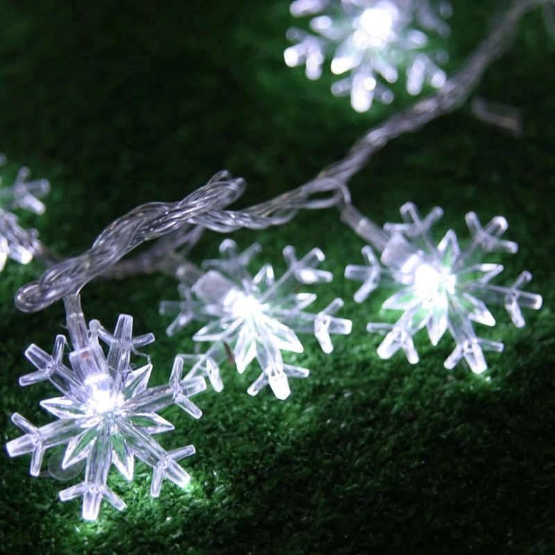 2m 20 led string lights battery operated snowflake fairy twinkle 2m 20 led string lights battery operated snowflake fairy twinkle lights christmas party decoration lamp aloadofball Image collections
