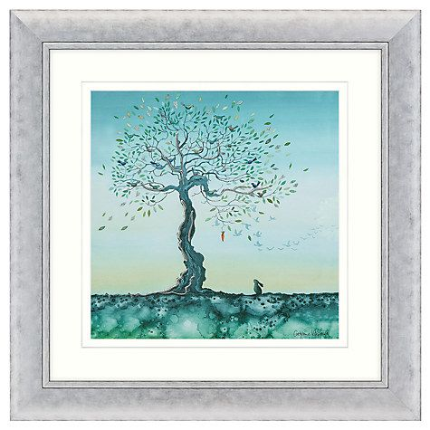 buy catherine stephenson hope embellished framed print 71 x 71cm online at johnlewis