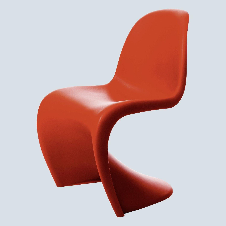Verner Panton 1926 98 Panton Chair 83 Cm 50 Cm 60 Cm 1967 In 2020 Panton Chair Chair Floor Chair