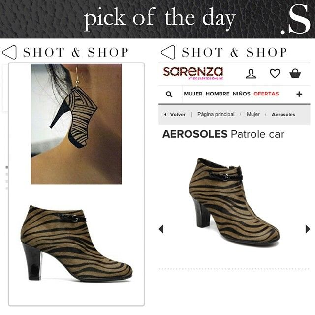 Pick of the day – Take a walk on the wild side!! #Zebra #ShotnShop #fashion #app