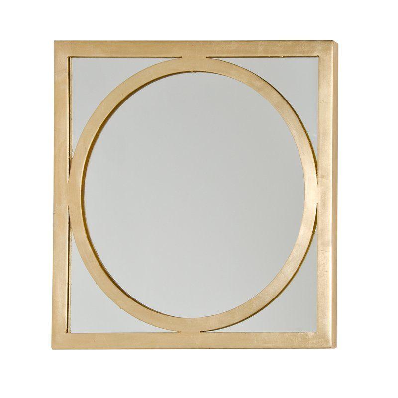 Worldsaway O Square Accent Mirror Perigold Antique Mirror Wall Modern Mirror Wall Mirror Design Wall