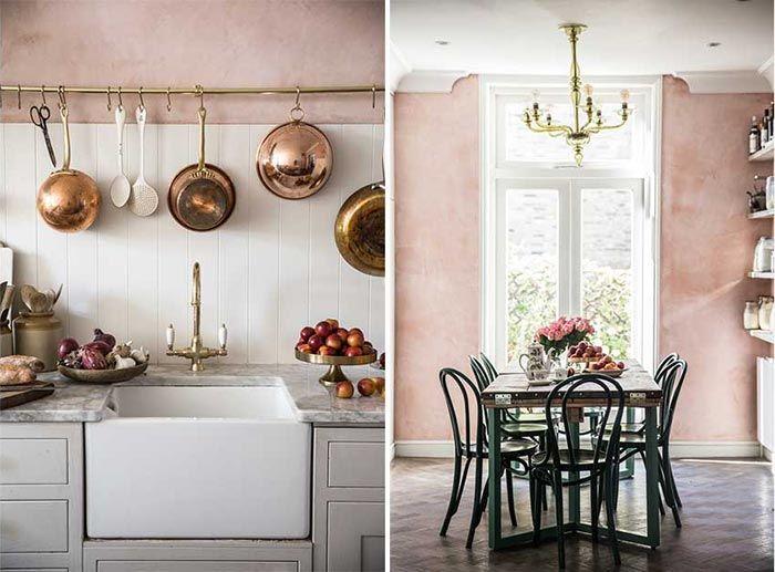 13 Cocinas De Color Rosa De Rosita Palido A Fucsia Intenso 13