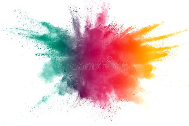 Photo About Color Powder Explosion On White Background Image Of Burst Isolated Adam 97095546 Paint Explosion Color Powder Watercolor Splash Png