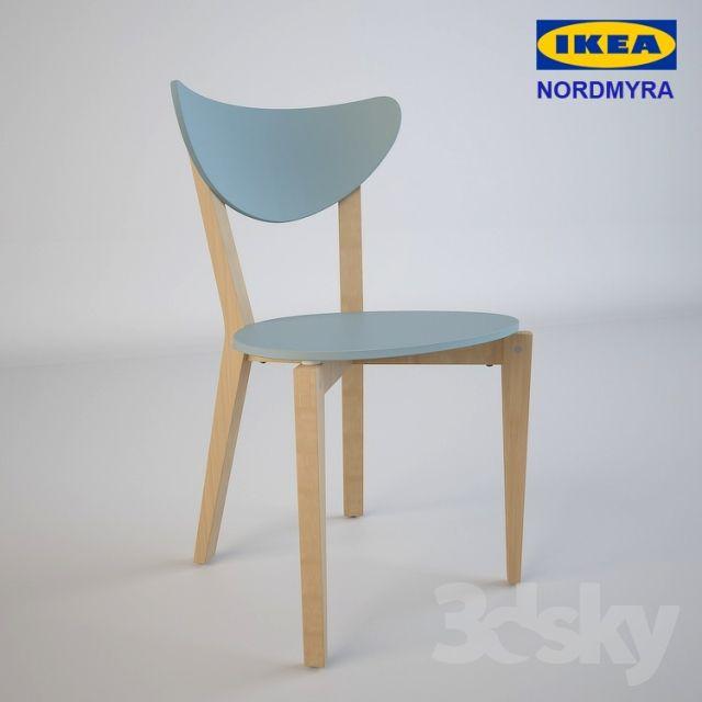 IKEA   NORDMYRA Chairs Pinterest 3d