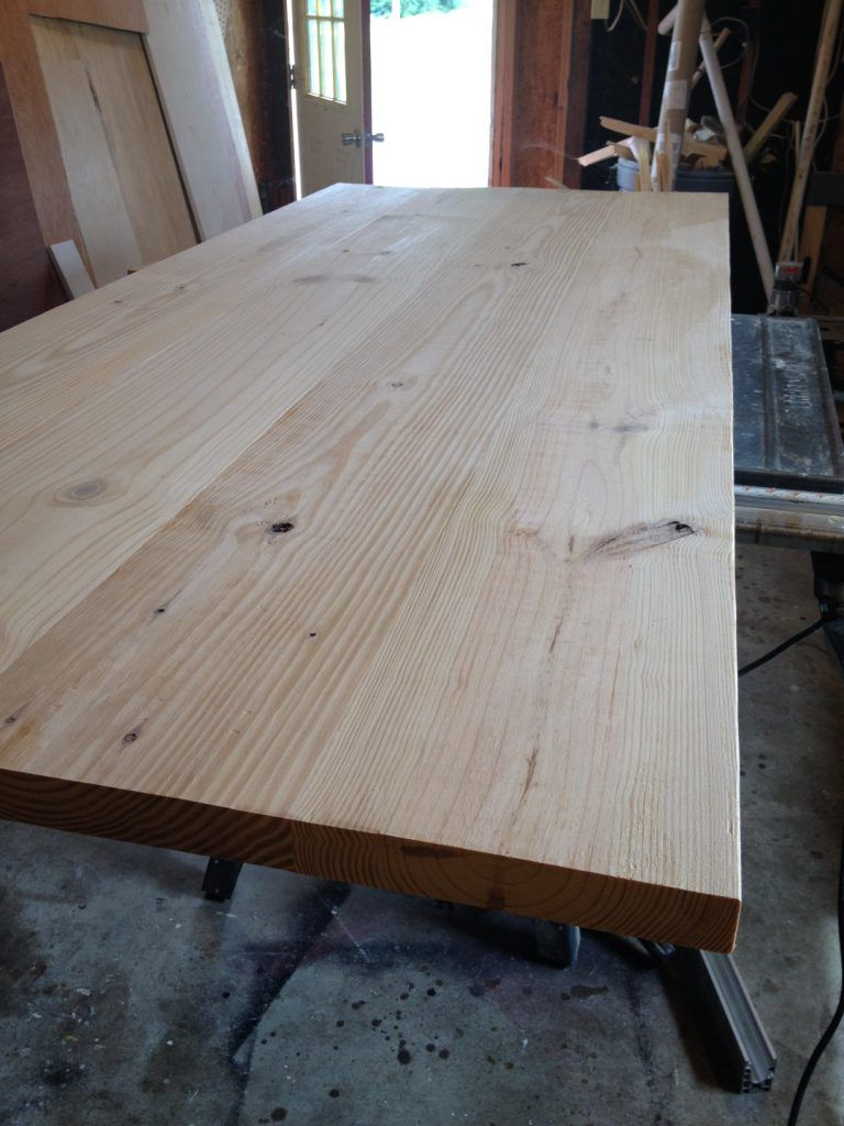 to build a simple diy wooden table top