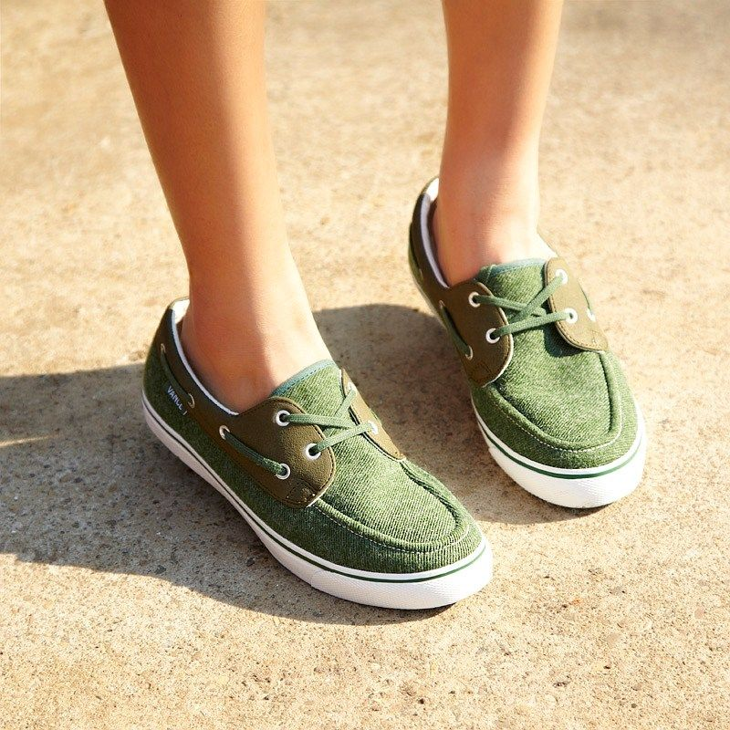 canvas shoes for women | canvas boat shoes women green the ...