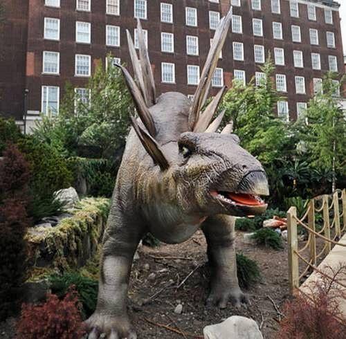 exposicion dinosaurios