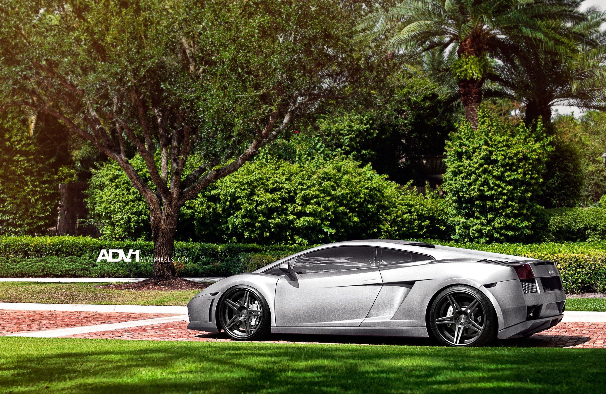 Mighty Lamborghini Gallardo Rolling On Forged Custom Rims By Adv1