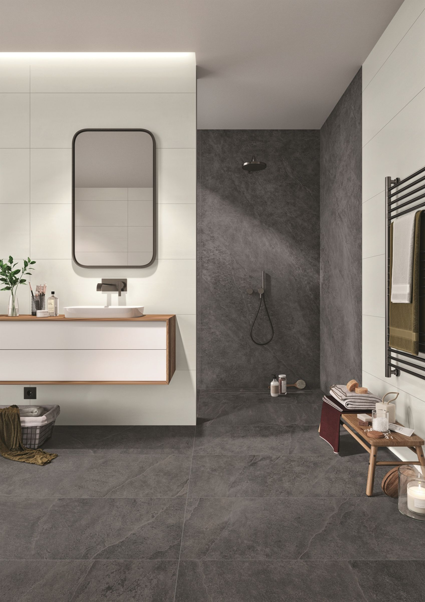 Modernes Badezimmer Badezimmer Fliesen Badezimmer Design Badezimmer