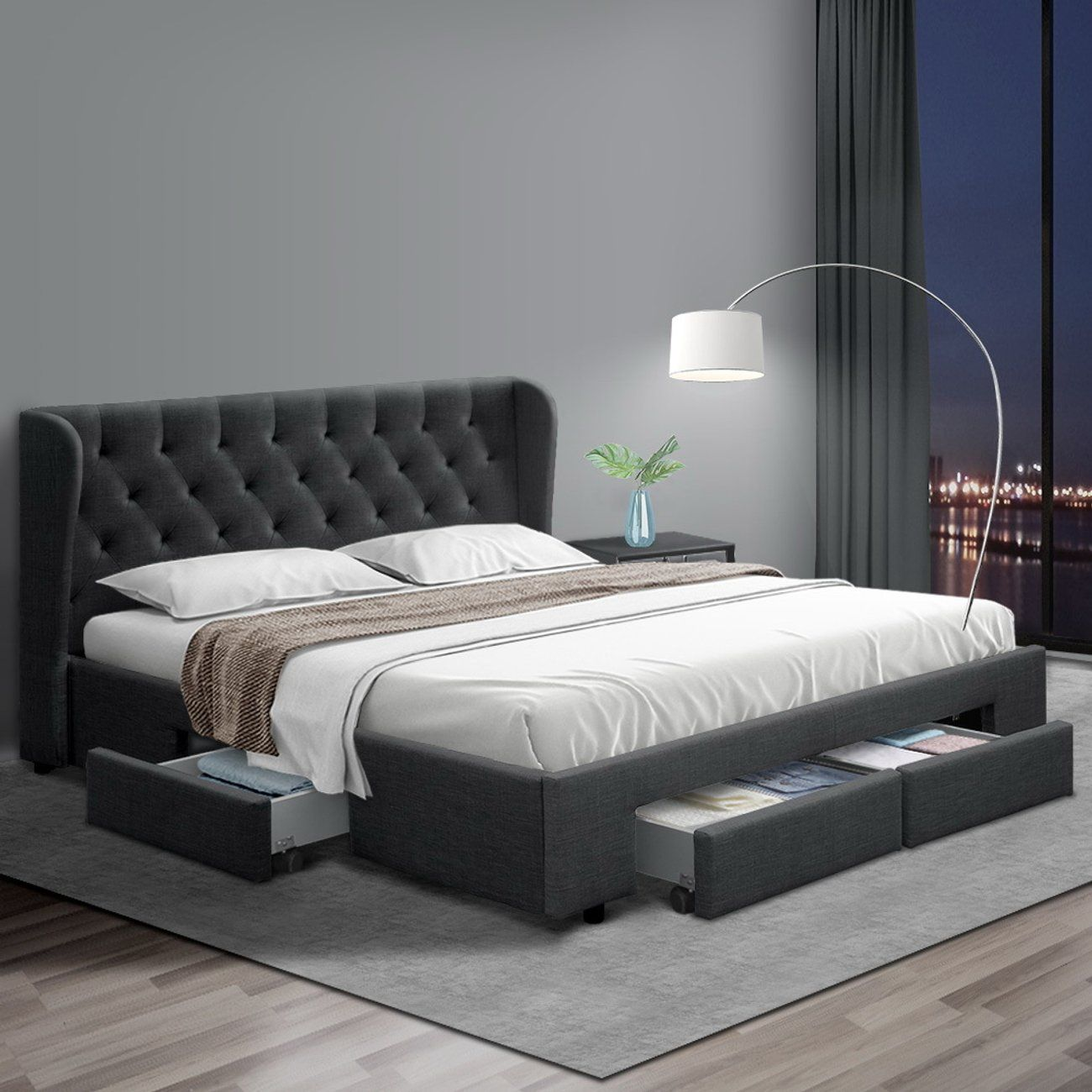 Pin By Betsy B On Bedrooms In 2020 Bed Frame With Storage