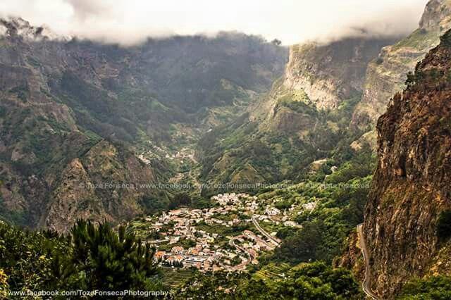 Curral das Freiras . Madeira Island . Portugal
