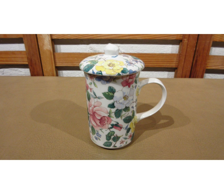 St. Fine Bone China Floral Coffee Mug Tea Cup with