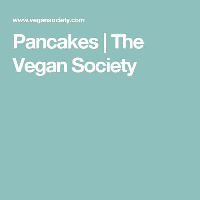 Pancakes | The Vegan Society