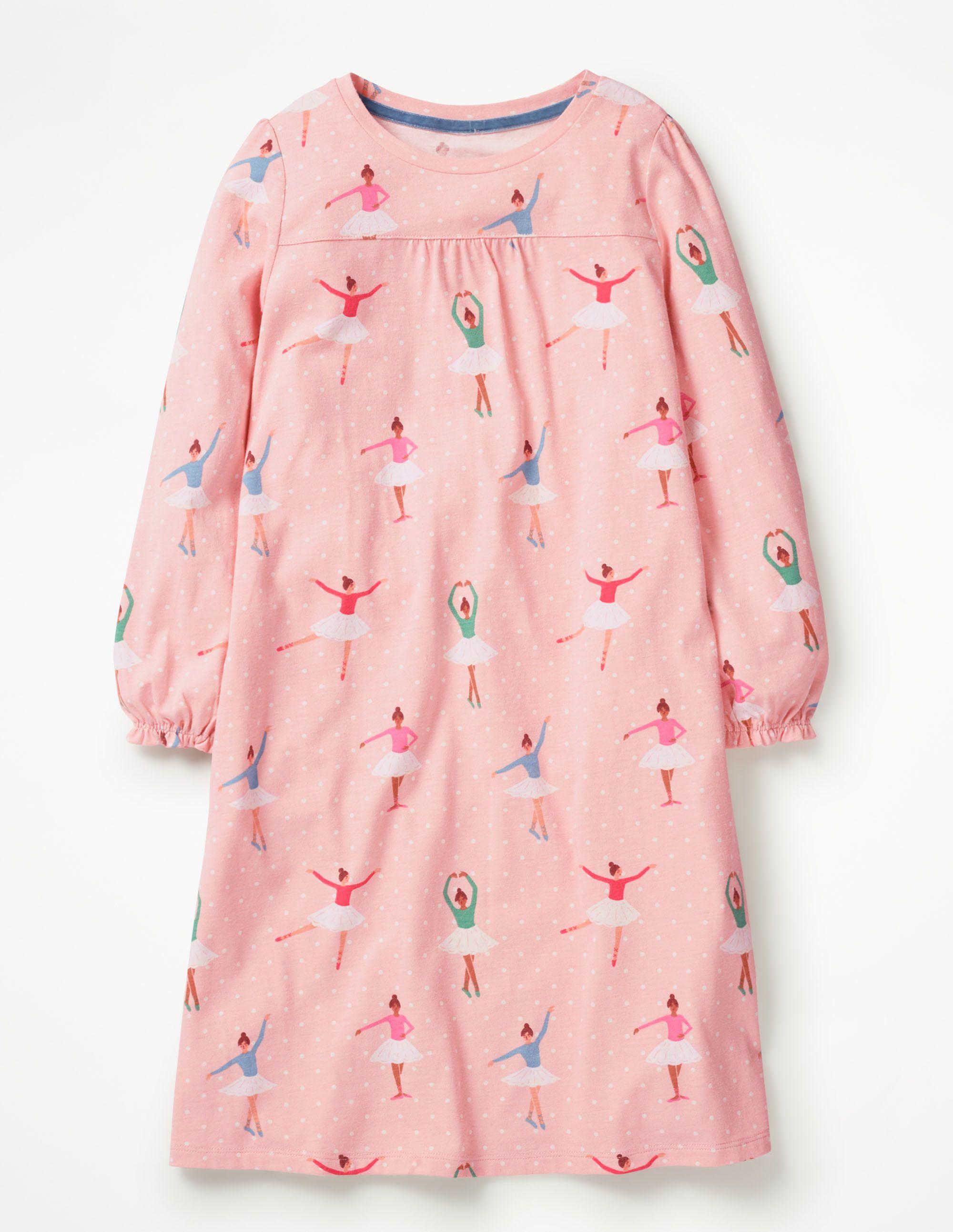 f5feef46582 Printed Nightgown G0723 Nightwear at Boden Пыльно Розовый