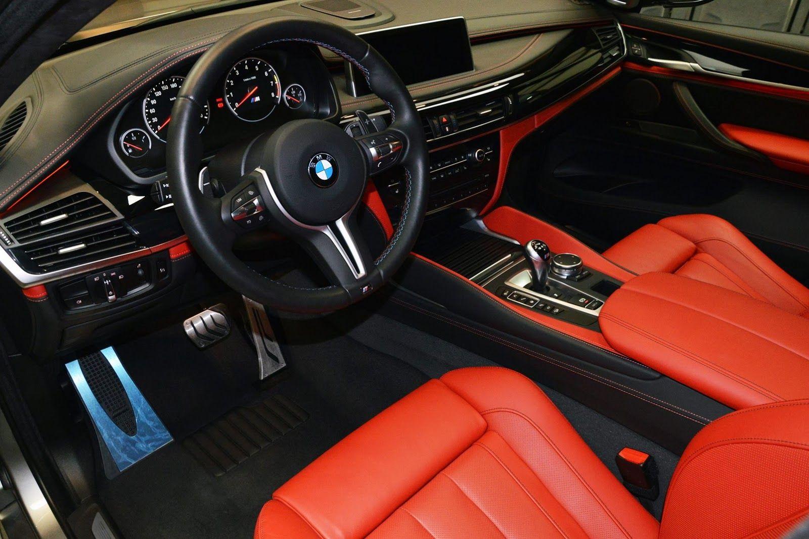 Bmw X6 M Gets A Makeover At Abu Dhabi Dealership Carscoops Bmw X6 Bmw Bmw X6 Interior