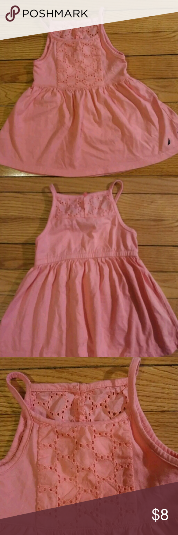 Nautica Peach Baby Summer Dress Size 18 Mth Super Cute Nautica Summer Dress Is Perfect For Any Occasion The Love Baby Summer Dresses Summer Dresses Dresses [ 1740 x 580 Pixel ]