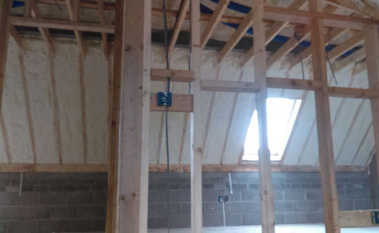 Roof Insulated With Open Cell Spray Foam Spray Foam Insulation Cost Spray Foam Insulation Spray Foam
