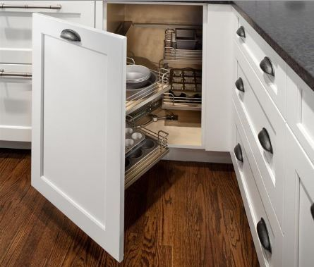 You Ll Love This Greenfield Cabinetry Miracle Corner Maybe Even More Than You Love Yo Corner Kitchen Cabinet New Kitchen Cabinets Corner Cabinet Solutions