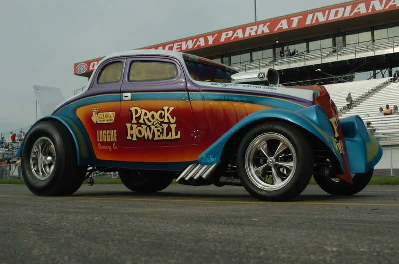 33 Willys Gasser Prock Howell Drag Racing Cars Old School Muscle Cars Willys