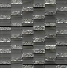 Sparkle Smoke Glass Mosaic Subway Tiles